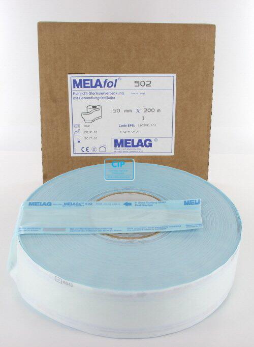 MELAG MELASEAL STERILISATIEZAKJES OP ROL 5cm (200mtr)