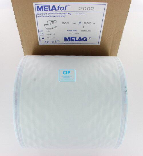 MELAG MELASEAL STERILISATIEZAKJES OP ROL 20cm (200mtr)
