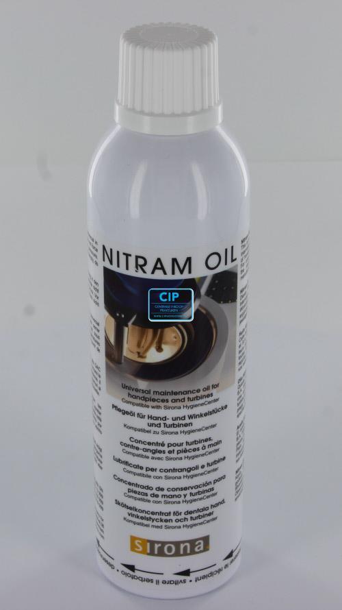 SIRONA NITRAM DAC UNIVERSAL OLIE NR.1 200ml (voor serienummers tot 103999)