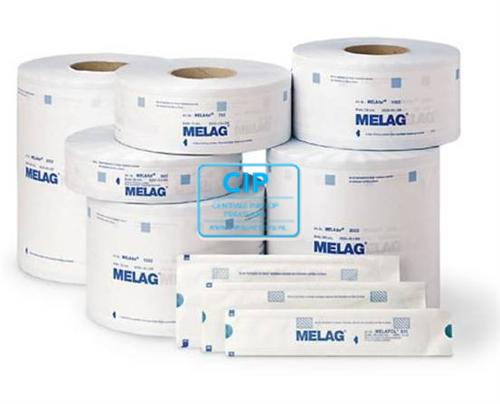 MELAG MELASEAL STERILISATIEZAKJES OP ROL 25cm (200mtr)