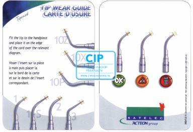 SATELEC TIP SLIJTAGE CARD TBV 1, 1S, 2, 3, 10Z, 10X, 10P