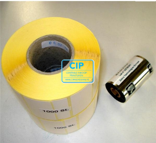 MELAG MELAPRINT SOFT-60 NAVULLING (2 ROLLEN ETIKETTEN, 1 INKTROL)