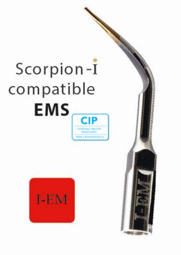 SCORPION-I CLIP IMPLANT CLEANER TIP I-EM EMS