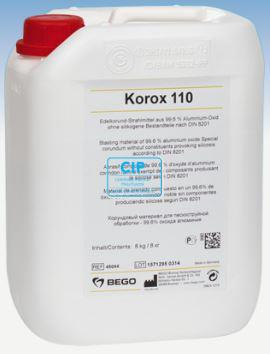 KOROX ALUMINIUM OXIDE 110 MICRON TBV MICRO-ETCHER (8kg)
