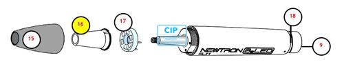 SATELEC B.LED LICHGGELEIDER VOOR NOZZLE NEWTRON B-LED (1st) REF E12903