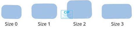 SOPRO PSPIX IDOT RONTGENPLAATJES SIZE 1 24x40mm (6st)