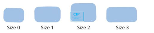 SOPRO PSPIX IDOT RONTGENPLAATJES SIZE 3 27x54mm (6st)