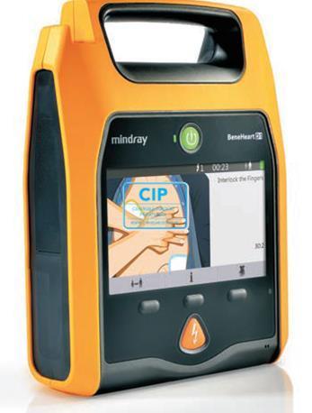MINDRAY BENEHEART D1 AED COMPLEET (AED, KAST, SERVICE CONTRACT, LEVERING + INSTALLATIE, GEBRUIKSINSTRUCTIE)