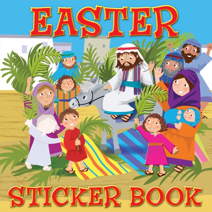 Easter Sticker Book (Paperback)
