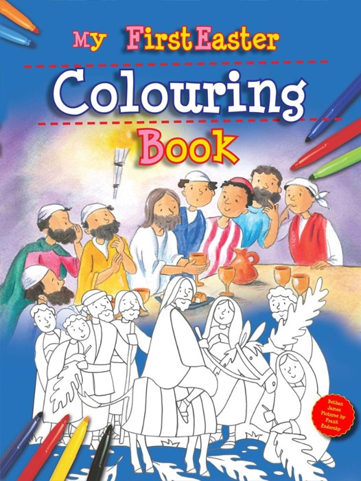 My First Easter Colouring Book (Paperback)