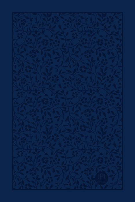 Passion Translation, The: New Testament, Large Print, Navy (Imitation Leather)