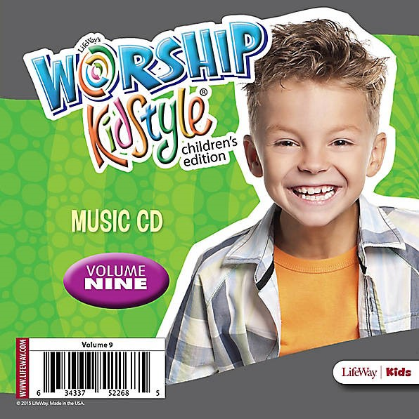 Worship KidStyle: Children's Music CD Volume 9 (CD-Audio)