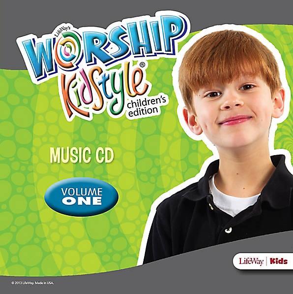 Worship KidStyle: Children's Music CD Volume 1 (CD-Audio)