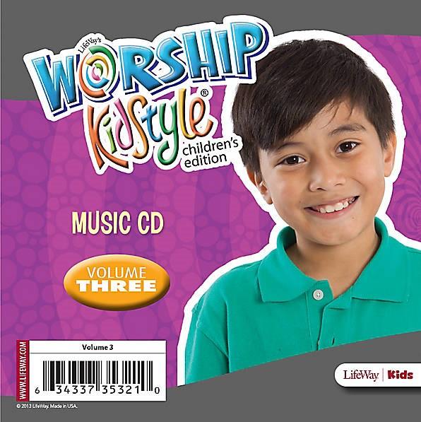 Worship KidStyle: Children's Music CD Volume 3 (CD-Audio)