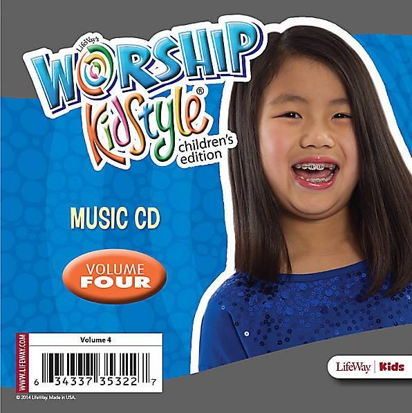 Worship KidStyle: Children's Music CD Volume 4 (CD-Audio)