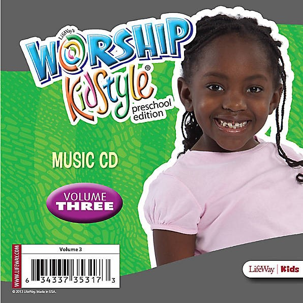 Worship KidStyle: Preschool Music CD Volume 3 (CD-Audio)