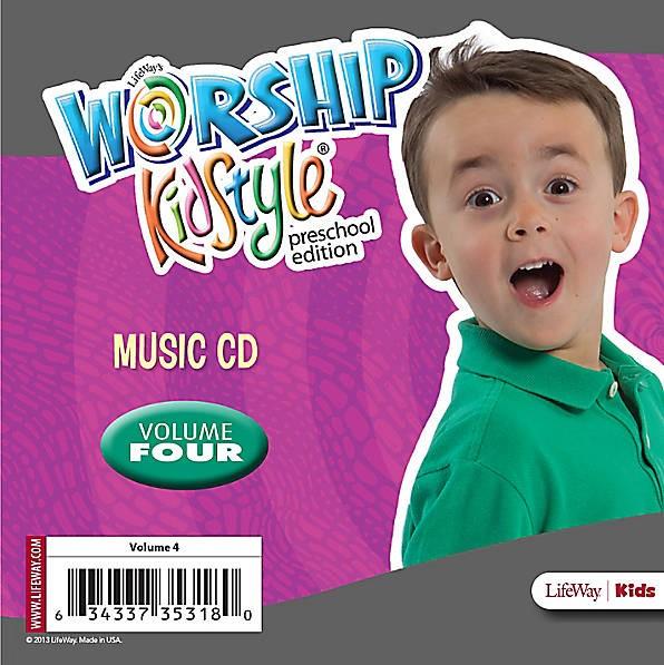 Worship KidStyle: Preschool Music CD Volume 4 (CD-Audio)