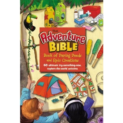The Adventure Bible Book Of Daring Deeds (Hard Cover)