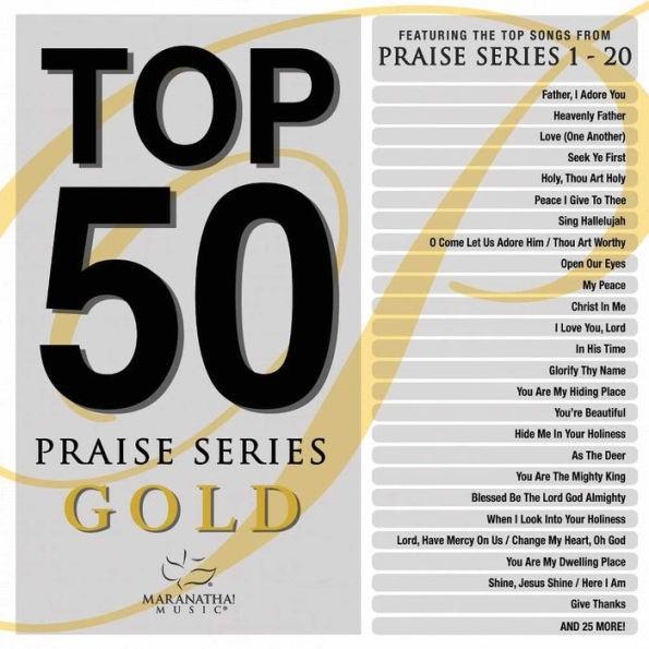 Top 50 Praise Series Gold (CD- Audio)