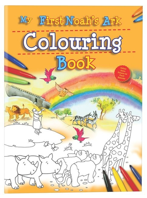 My First Noah's Ark Colouring Book (Paperback)