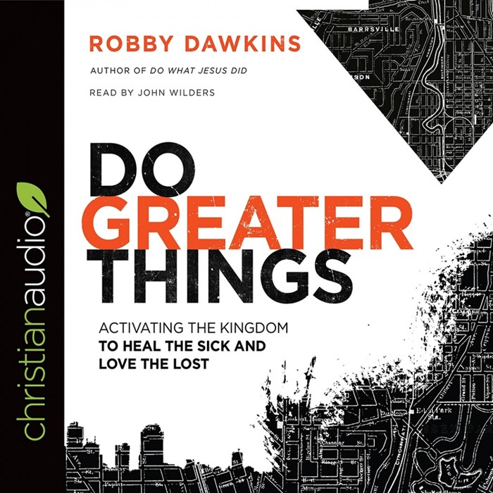 Do Greater Things Audio Book (CD-Audio)