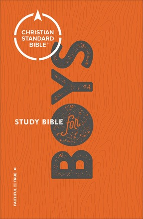 CSB Study Bible For Boys (Paperback)