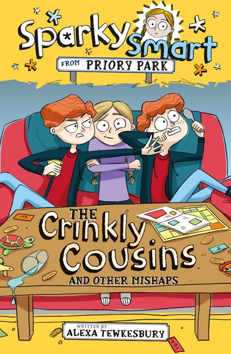 Sparky Smart from Priory Park: The Crinkly Cousins and other (Paperback)