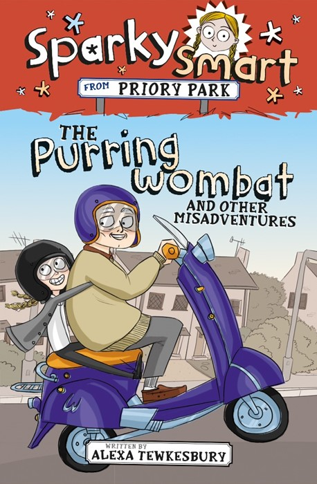 Sparky Smart from Priory Park: The Purring Wombat and other (Paperback)