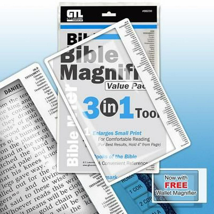 Bible Magnifier 3-in-1 Pack (General Merchandise)