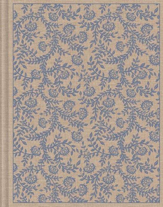 ESV Single Column Journaling Bible, Cloth Over Board, Flower (Hard Cover)
