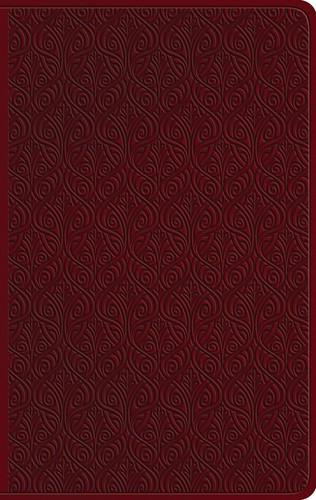 ESV Large Print Value Thinline Bible TruTone, Ruby (Imitation Leather)