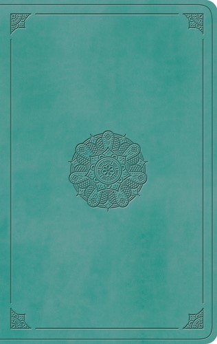 ESV Value Thinline Bible, TruTone, Turquoise, Emblem Design (Imitation Leather)