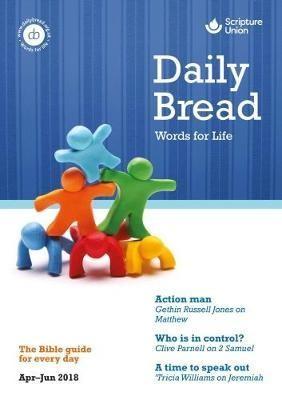 Daily Bread Large Print April-June 2018 (Paper Back)