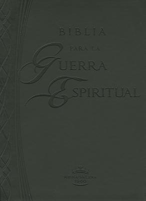 Biblia para la guerra espiritual (Imitación piel negra) (Leather Binding)