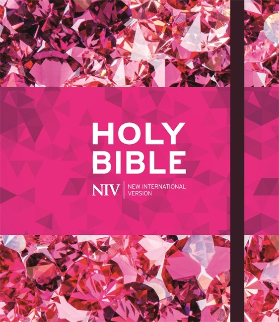 NIV Ruby Journalling Bible (Hard Cover)