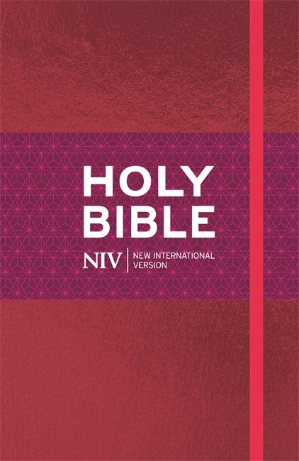 NIV Ruby Thinline Cloth Bible (Hard Cover)