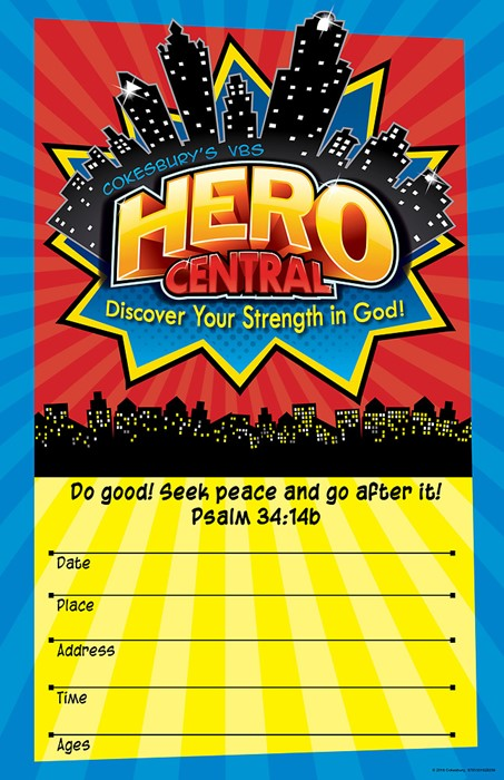 VBS Hero Central Large Promotional Poster (Poster)