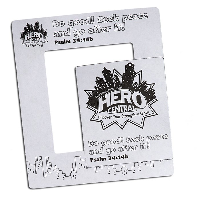 VBS Hero Central Hero Magnetic Frame (Pack of 12) (General Merchandise)