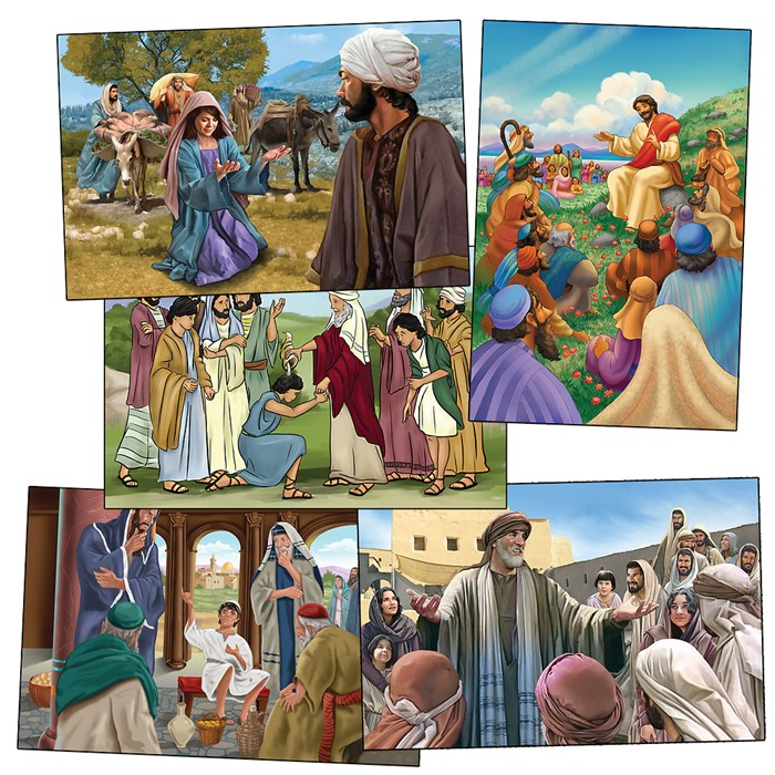 VBS Hero Central Bible Story Poster Set (Poster)