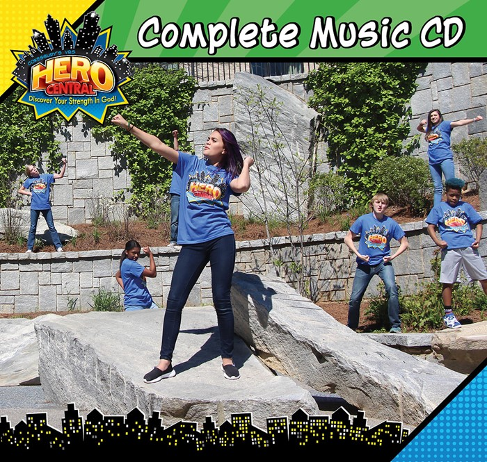 VBS Hero Central Complete Music CD (CD-Audio)