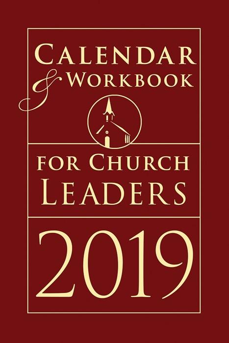 Calendar & Workbook for Church Leaders 2019 (Calendar)