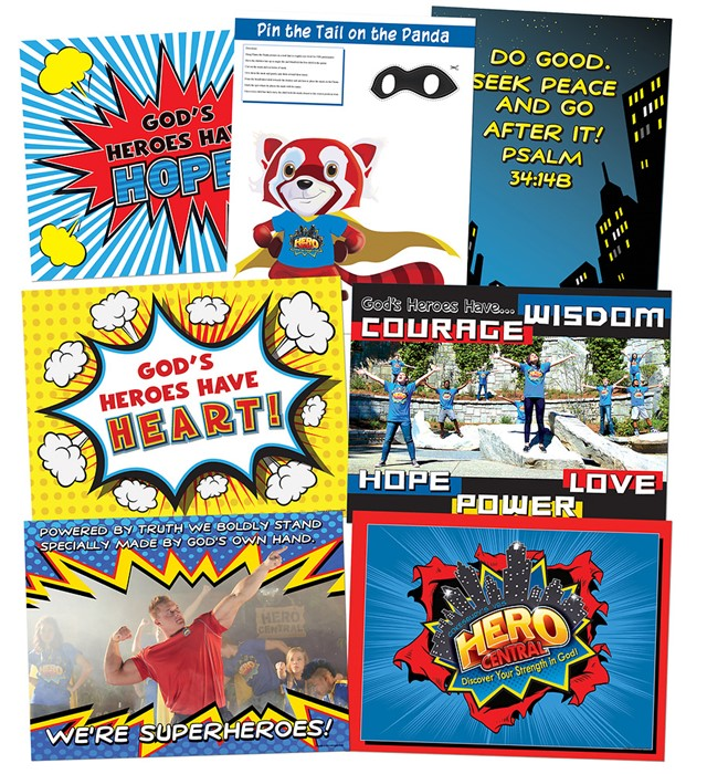 VBS Hero Central Decorating Poster Pack (Poster)