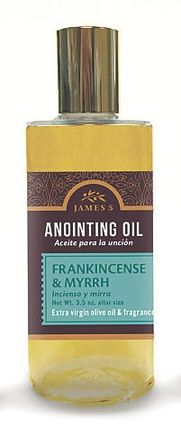Anointing Oil Frankincense And Myrrh 3.5oz Altar Size (General Merchandise)