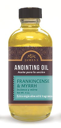 Anointing Oil Frankincense And Myrrh 4oz Refill (General Merchandise)