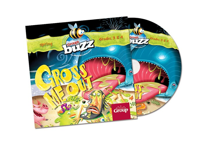 Buzz Grades 3&4 Gross Me Out Cd Spring 2018 (CD-Audio)