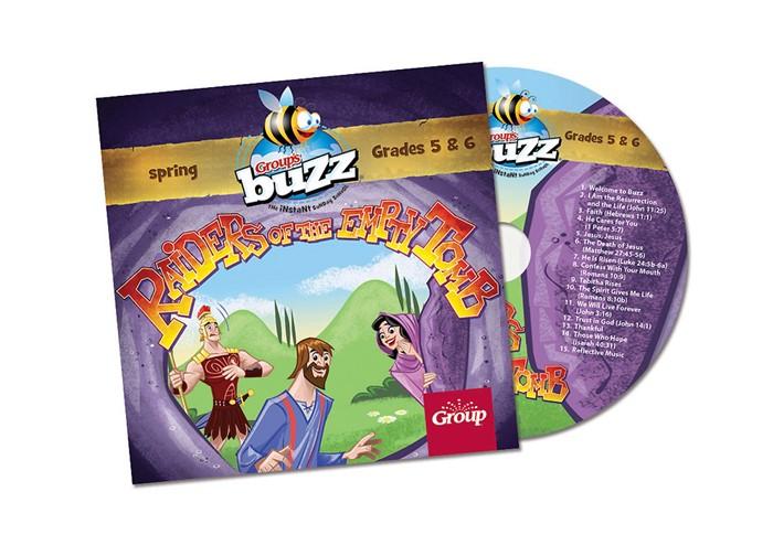 Buzz Grades 5&6 Raiders Of The Empty Tomb CD Spring 2018 (CD-Audio)