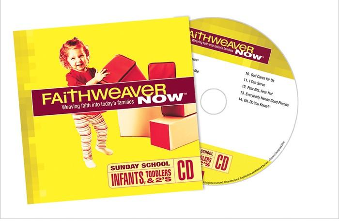 FaithWeaver Now Infants & Toddlers CD Spring 2018 (CD-Audio)
