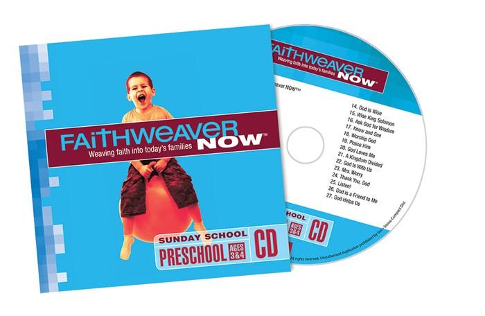 FaithWeaver Now Preschool CD Spring 2018 (CD-Audio)