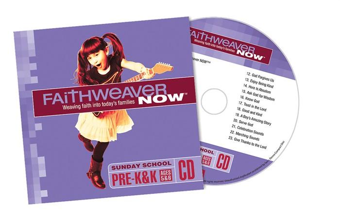 FaithWeaver Now Pre-K&K CD Spring 2018 (CD-Audio)