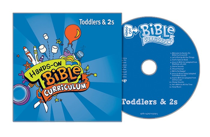 Hands-On Bible Toddlers CD Spring 2018 (CD-Audio)